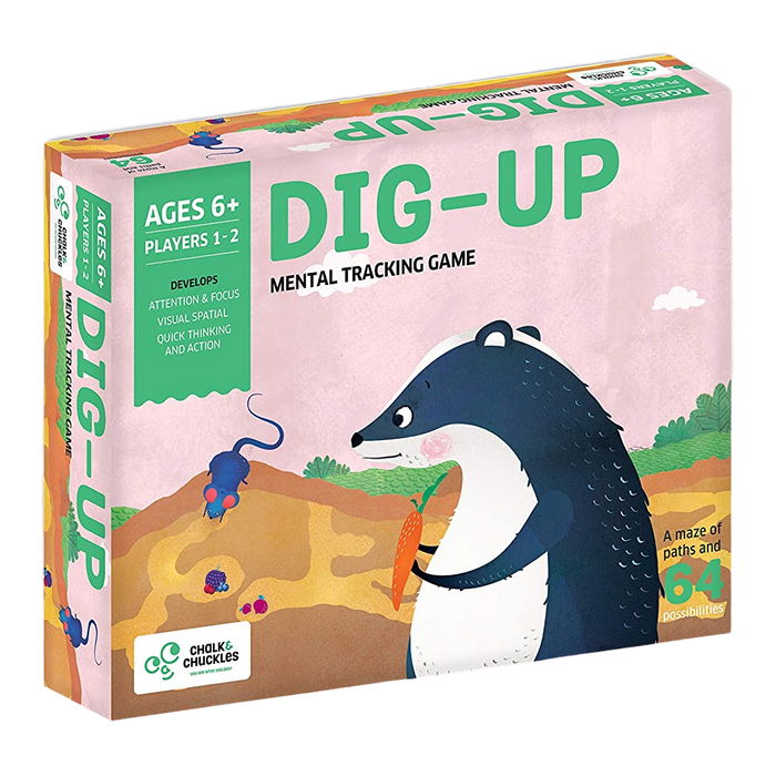 Dig Up - Mental Tracking Game - Age 6+