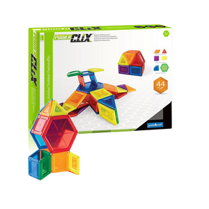 Guide Craft -PowerClix Solids 44 Piece Set- construction toy –for the age 3 and up