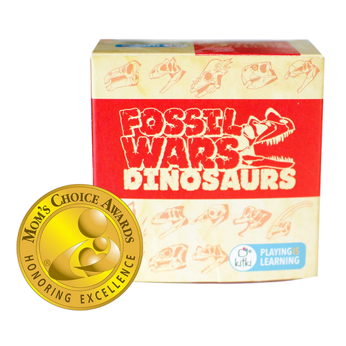Kitki Fossil Wars Dinosaurs Science Trivia Toy for the age 8 and up
