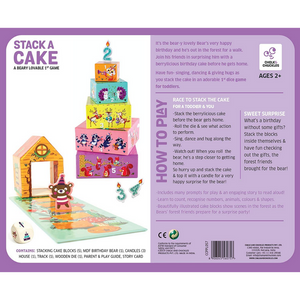 Stack A Cake -  Sorting & Classification - Age of 2+