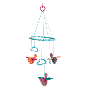Yarn Birds Baby Mobile - Art & Crafts - Age 8+