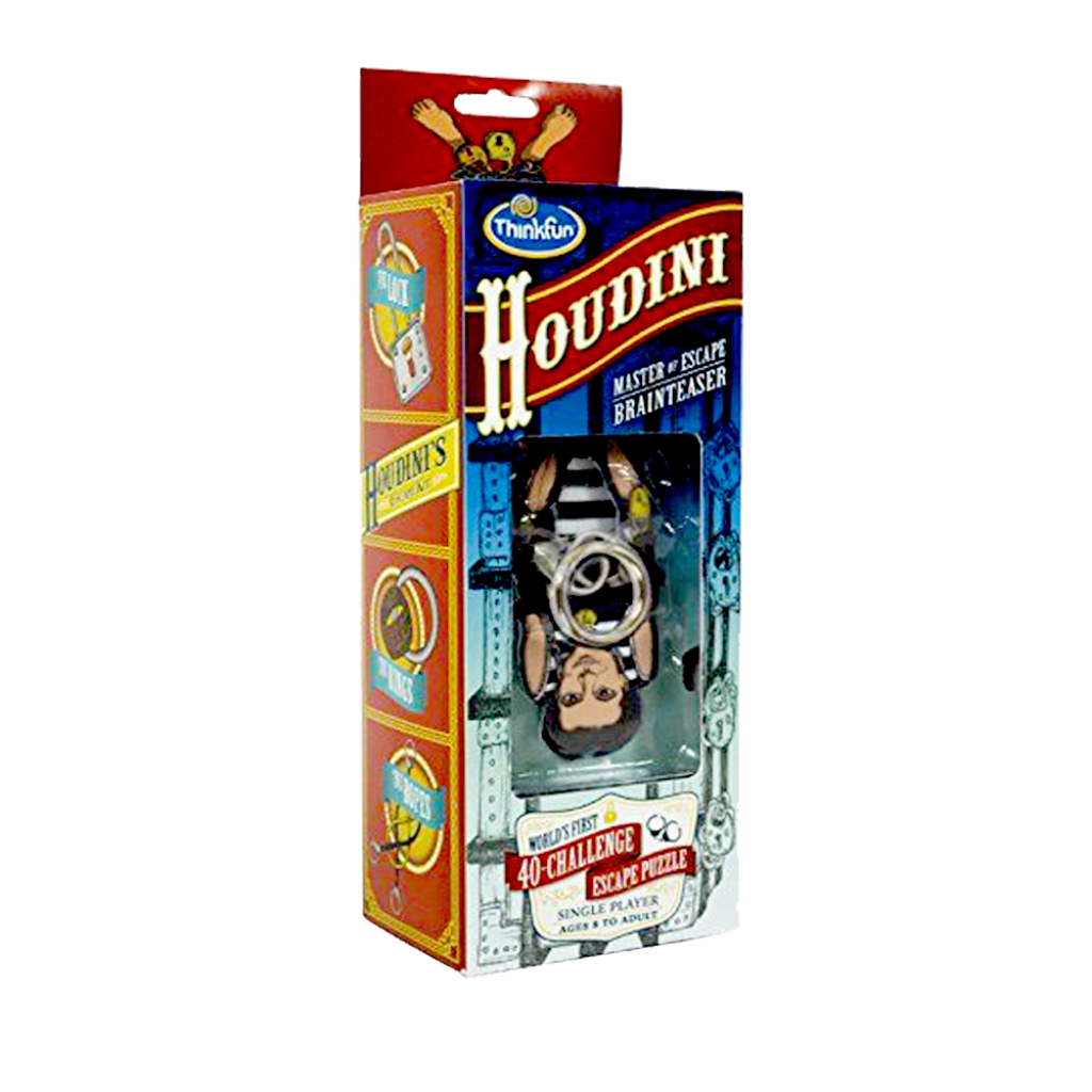 Thinkfun-Houdini Escape Artist Kids Puzzle Game-For the age 8 and up