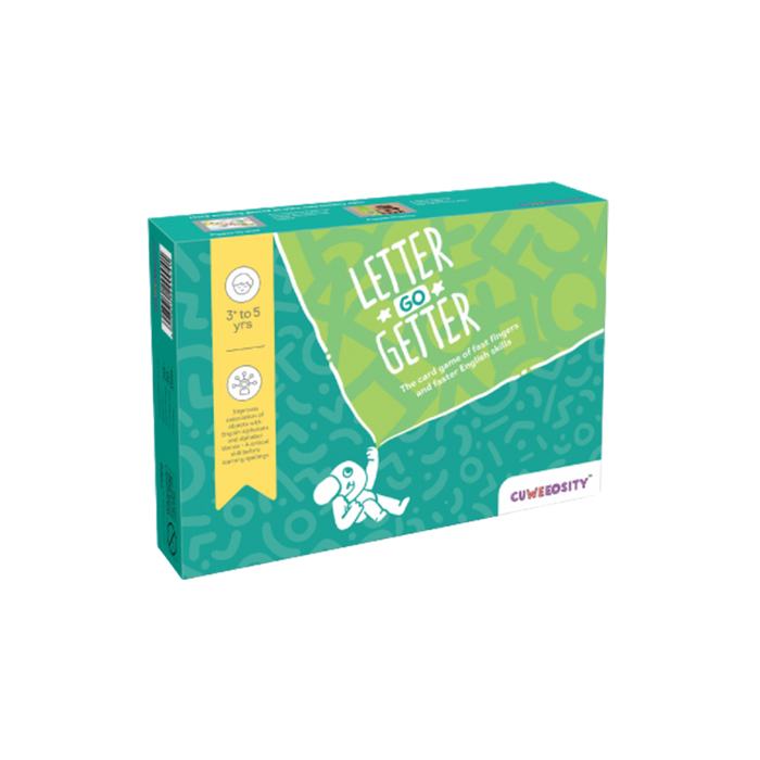Letter Go Getter - Letter Matching Game - Age 3-5