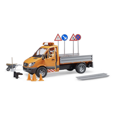 Licensed Mercedes Benz Sprinter Municipal Vehicle 1:16 Scale Model for the age 3 and up