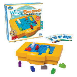Thinkfun-WaveBreaker-Shifting Seas Logic Game- for the age 8 and up