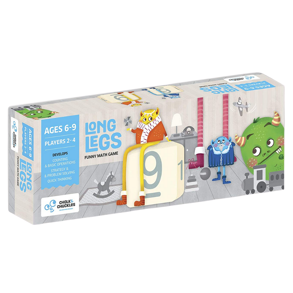 Long Legs - Funny Math Game - Age 6-9