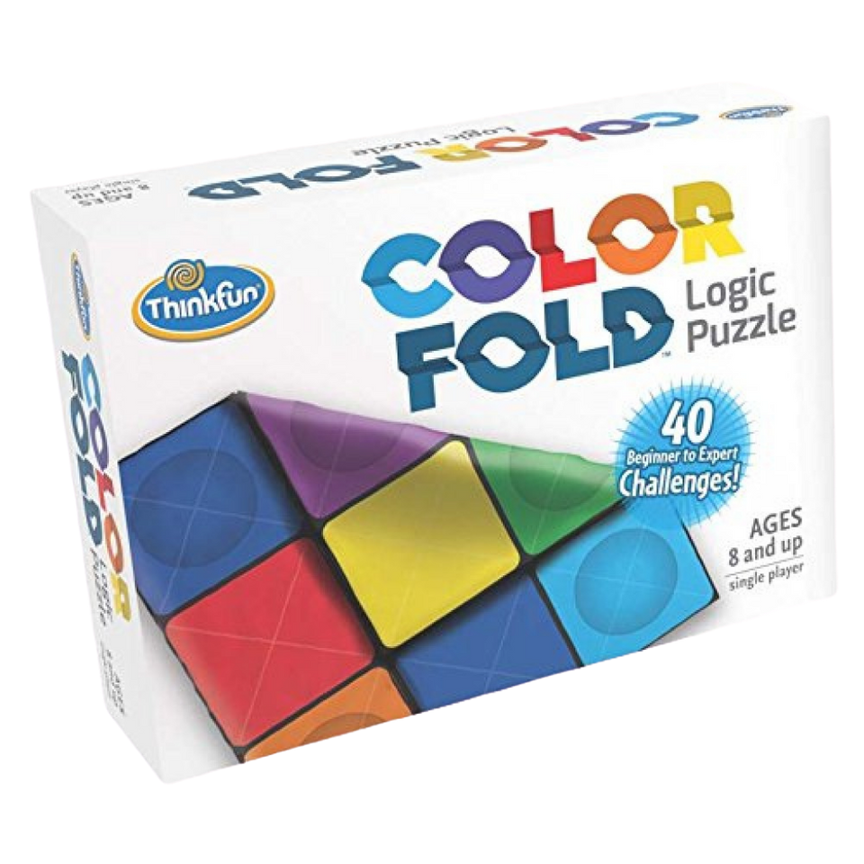 Thinkfun-Color Fold-Multi color-A Colorful Test of Spatial Perception- For the Age 8 and up