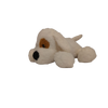 Soft Lying Dog - White - 33Cm for the age 3+