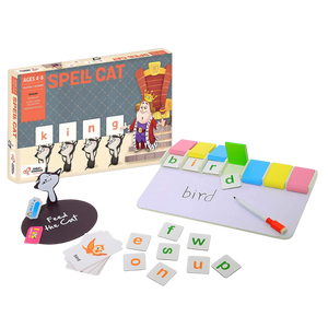 Spell Cat  - Interactive Learn to Spell - Age 4-8