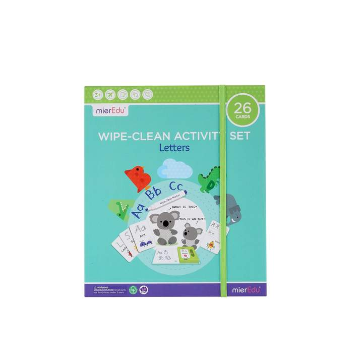 Wipe Clean Activity Set - Letters - Age 3+
