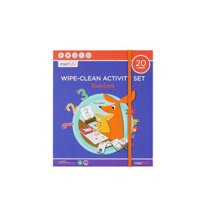 Wipe Clean Activity Set - Numbers - Age 3+