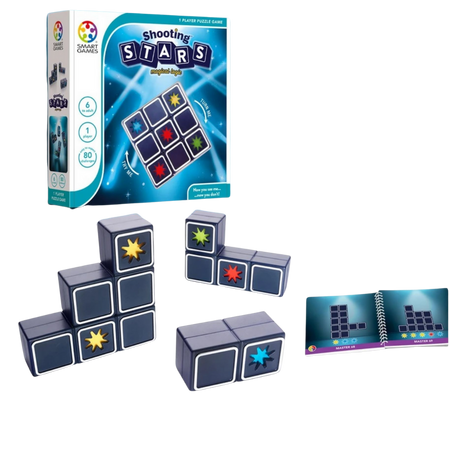 SHOOTING STARS - Logical Puzzle - Ages 6+
