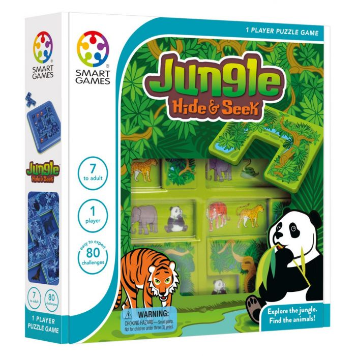 Jungle Hide and Seek - Logical Game - Ages 7 and up