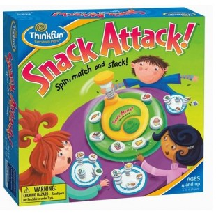 Thinkfun-Snack Attack-Yummy Food Picture Matching Toy-for the age 4 and up
