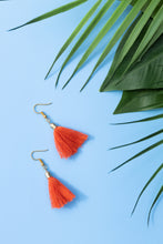 Load image into Gallery viewer, mini earrings red for girls