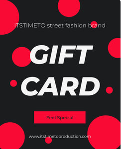 ITSTIMETO Gift Card