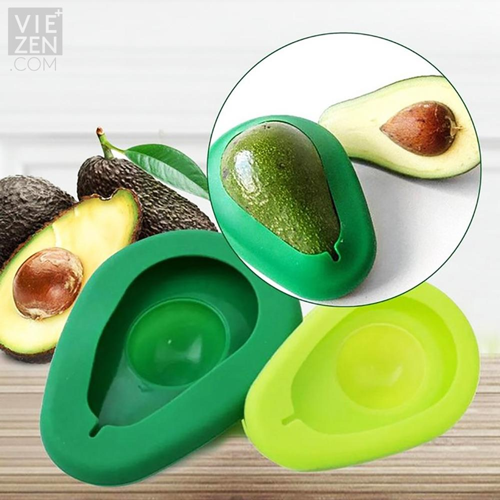 Couvert avocat en silicone - anti-oxydation - conservation optimal