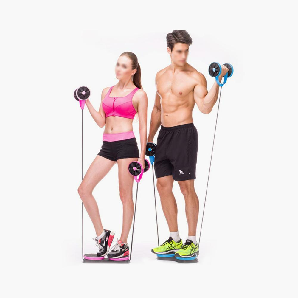 Appareil ABS Fitness - Double roue abdominale
