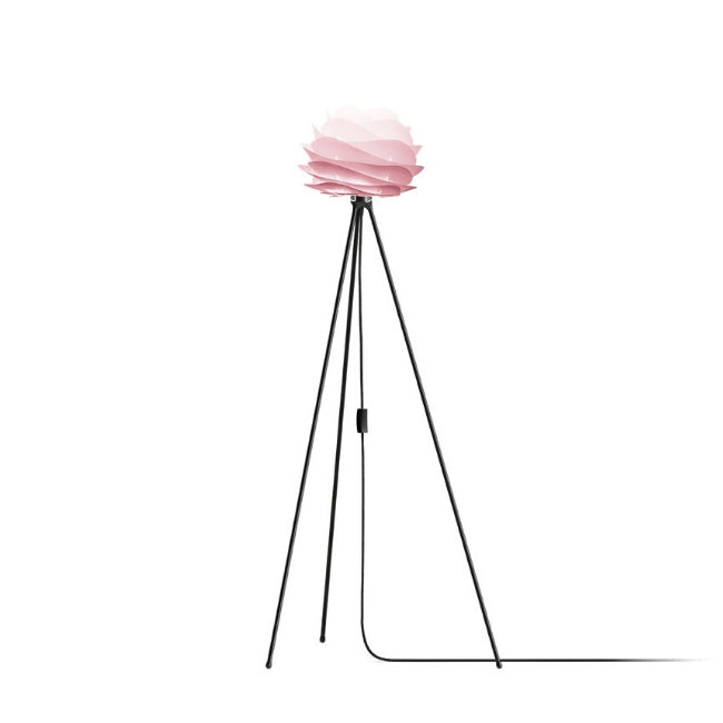 Carmina Baby Rose (Mini) - Floor Lamp (Black Stand)