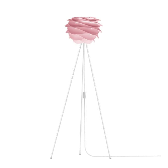 Carmina Baby Rose (Mini) - Floor Lamp (White Stand)