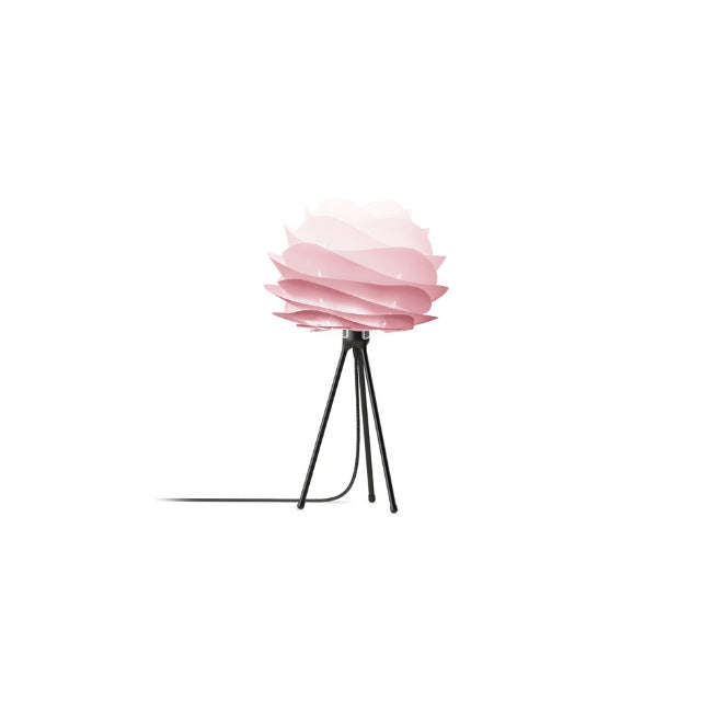 Carmina Baby Rose (Mini) - Table Lamp (Black Stand)