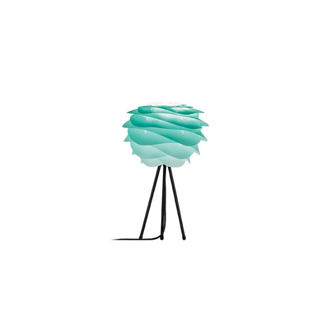 Umage Carmina Turquoise (Mini) - Table Lamp (Black Stand)