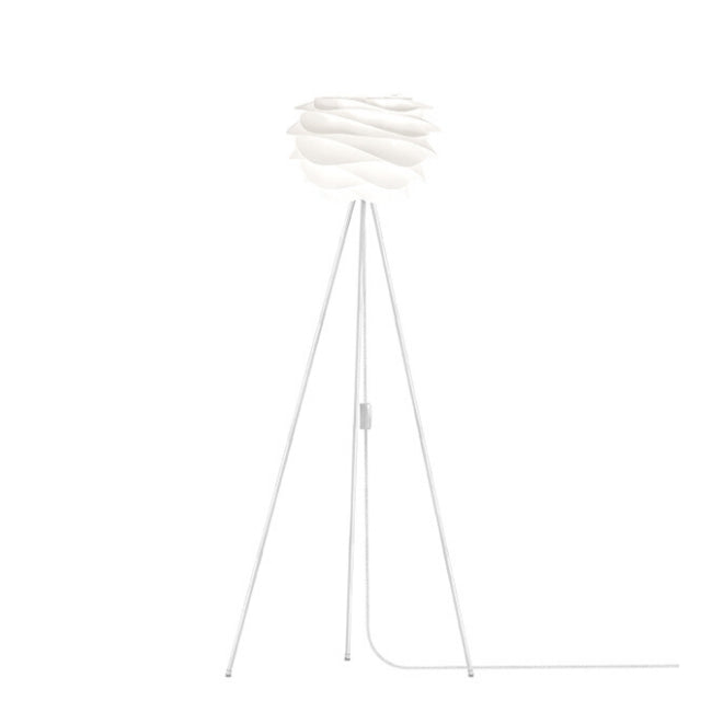 Umage Carmina White (Mini) -Floor Lamp (White Stand)