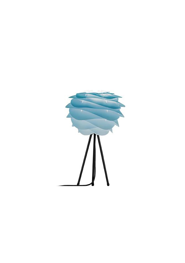 Umage Carmina Azure (Mini) - Table Lamp (Black Stand)