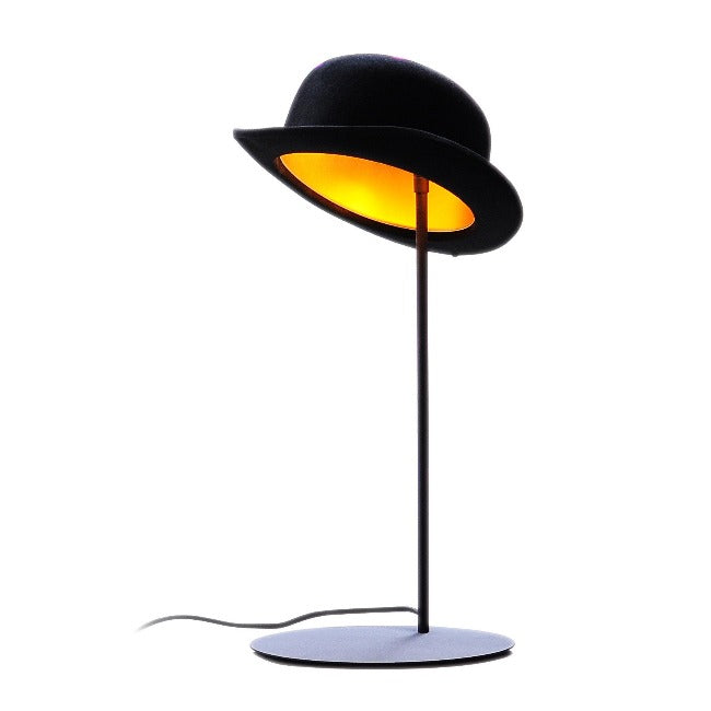 Jeeves Bowler Hat Table Lamp