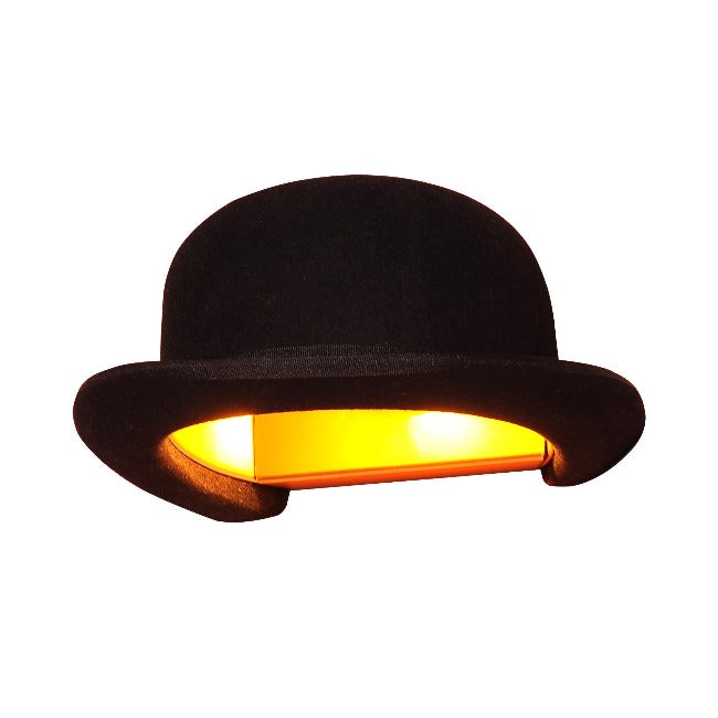 Jeeves Bowler Hat Wall Lamp Shade