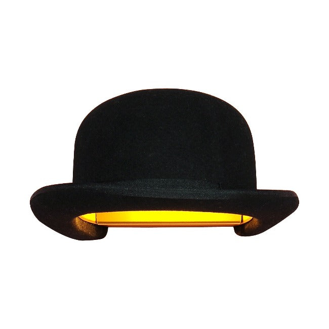 Innermost Jeeves Bowler Hat Wall Lamp Shade