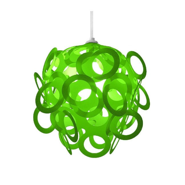 Loopy-Lu Green Lamp Shade