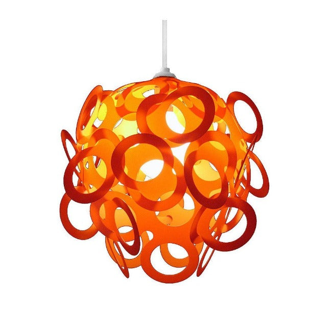 Loopy-Lu Orange Lamp Shade