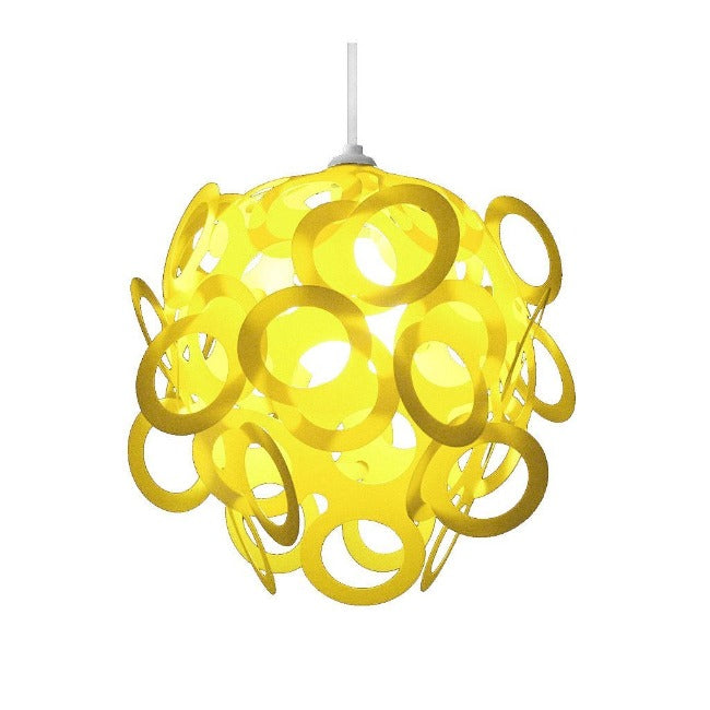 Loopy-Lu Yellow Lamp Shade