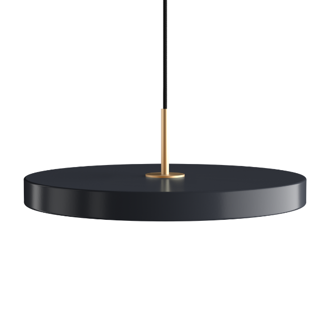 Asteria Anthracite Grey (Medium) Pendant Light