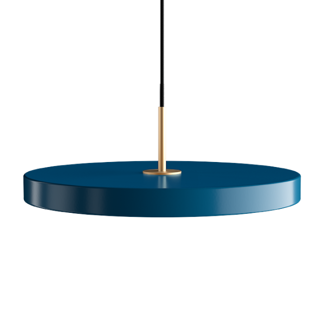 Asteria Petrol Blue (Medium) Pendant Light