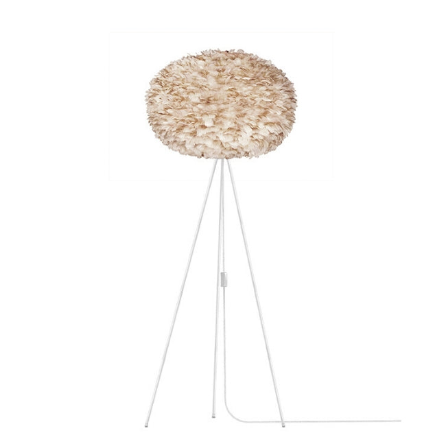 Umage Eos Brown (Large) - Floor Lamp (White Stand)