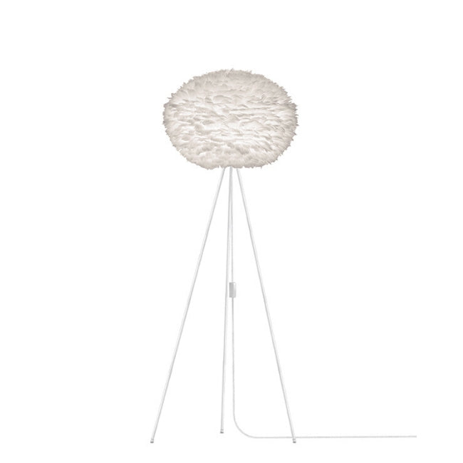Umage Eos White (Large) - Floor Lamp (White Stand)