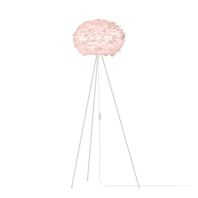 Umage Eos Pink (Medium) - Floor Lamp (White Stand)