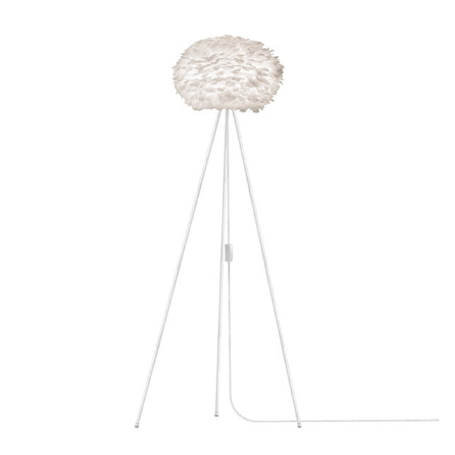 Umage Eos White (Medium) - Floor Lamp (White Stand)