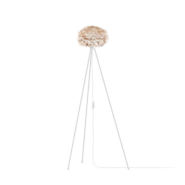 Umage Eos Brown (Mini) - Floor Lamp (White Stand)