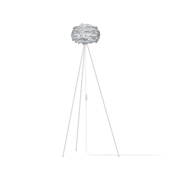Umage Eos Grey (Mini) - Floor Lamp (White Stand)