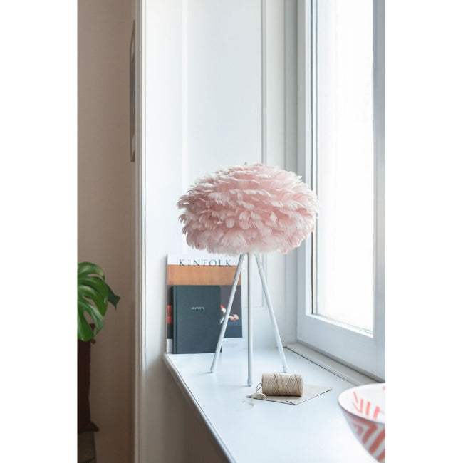 Eos Feather Lamp Shade - Baby Rose - Mini