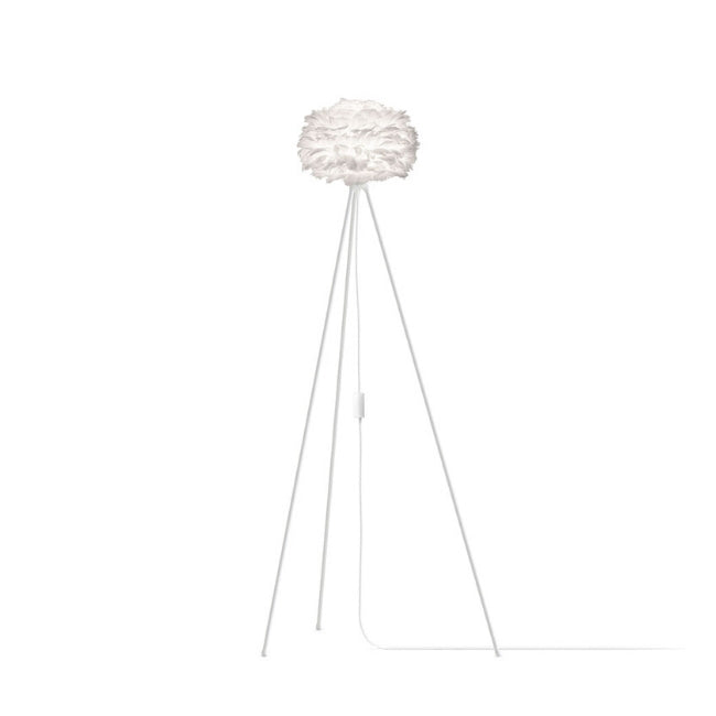 Umage Eos White (Mini) - Floor Lamp (White Stand)