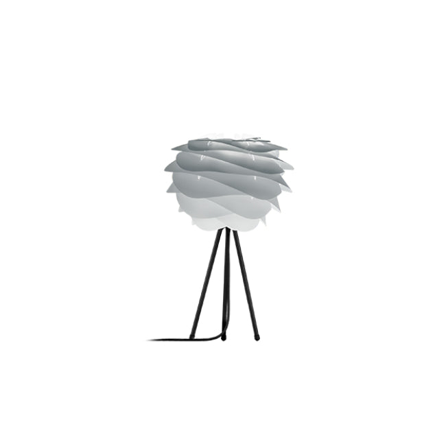 Umage Carmina Misty Grey (Mini) - Table Lamp (Black Stand)