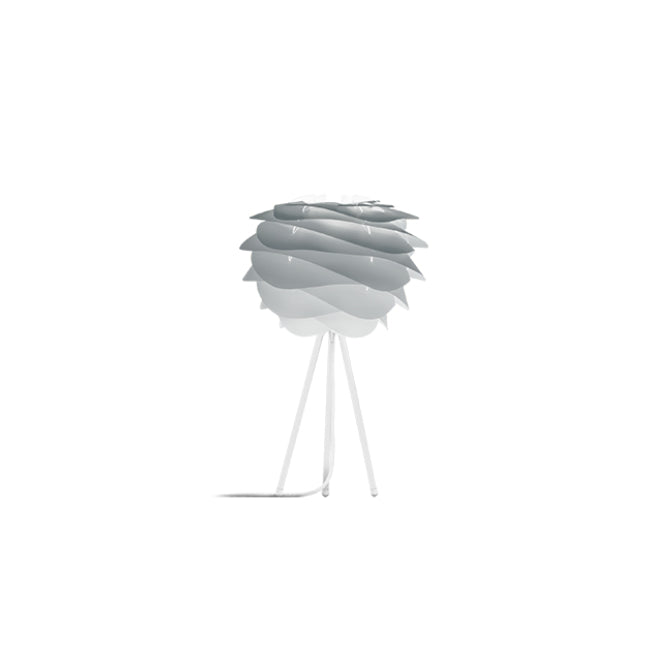 Umage Carmina Misty Grey (Mini) - Table Lamp (White Stand)
