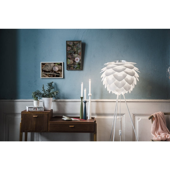 Silvia Lamp Shade - White - Medium