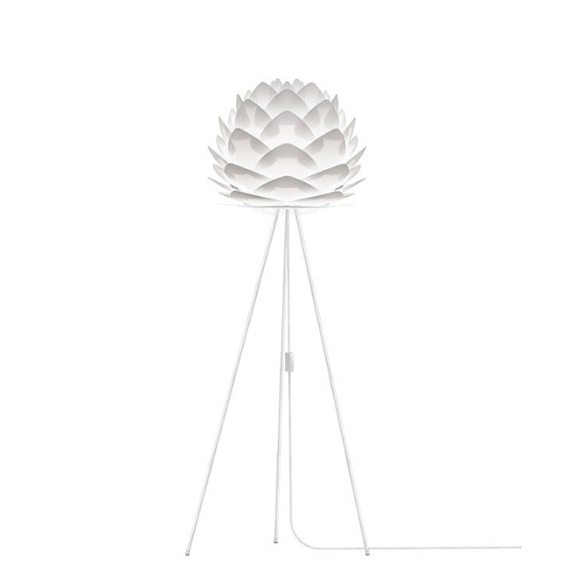 Umage Silvia White (Medium) - Floor Lamp (White Stand)