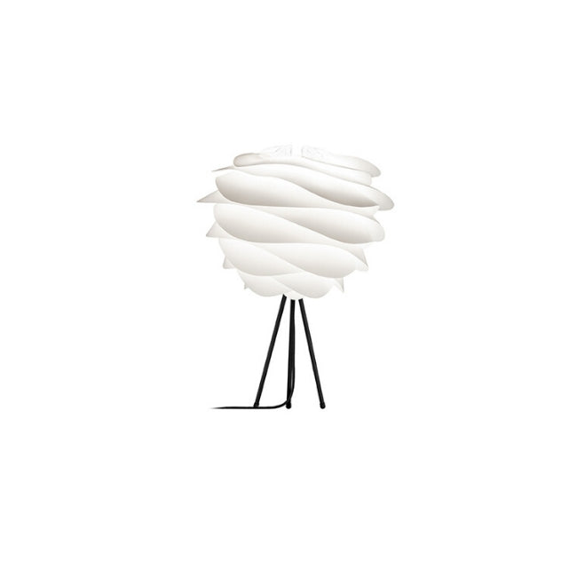 Umage Carmina White (Medium) - Table Lamp (Black Stand)