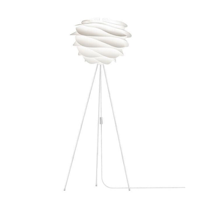 Umage Carmina White (Medium) - Floor Lamp (White Stand)